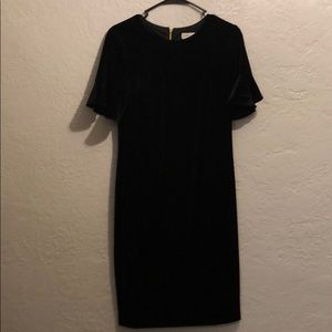 Calvin Klein velvet dress